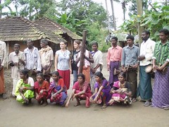 afternoon with a tribal community