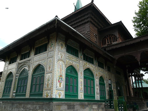 Khanqa Shah Hamdan Srinagar View from the rear