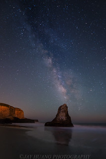 Milky Way Over Davenport Beach