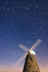 longexposure sky west building windmill night stars star sussex evening north sails trails pole clear astrophotography nightsky chichester polaris startrail halnaker boxgrove halnakerwindmill
