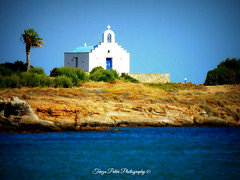 Xrisi Akti, Paros, Greece (Terezaki ✈) Tags: life trip travel blue light sea summer vacation sky holiday seascape green church nature yellow landscape geotagged island photography gold photo spring nikon day searchthebest d70 live hellas greece creation grecia greekislands geotag paros cyclades pictureperfect naturesfinest location4 kyklades 100faves 150favs 50faves 100favs anawesomeshot flickrdiamond theperfectphotographer