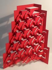 "claustra ""babel""  (3) (kiridarchi) Tags: architecture photo origami relief kirigami popup volume babel moucharabieh paravent origamicarchitecture papermuseum pli cloison papierpli 3dpaperart claustra kiriorigami kiridarchi kirigamicarchitecture"