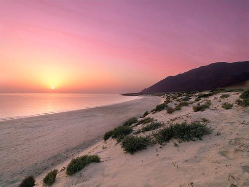 Jebel Sifah Beach