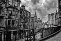 Victoria Terrace, Edinburgh (Colin Myers Photography) Tags: white black colin photography mono scotland edinburgh terrace scottish victoria myers victoriastreet monocrhome edinburghphotography edinburghblackandwhite edinburghblackwhite colinmyersphotography edinburghmono