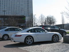 Porsche 911 (997) Carrera S (nakhon100) Tags: white cars 911 porsche coupe carrera 997