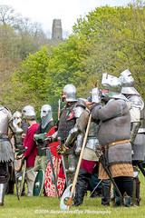 [2014-04-19@15.09.25a] (Untempered Photography) Tags: history costume helmet battle medieval weapon sword knight tor armour reenactment combatant chainmail glastonburytor canonef50mmf14 perioddress polearm platearmour gambeson poleweapon mailarmour untemperedeye canoneos5dmkiii untemperedeyephotography glastonburymedievalfayre2014