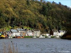 Le Bout du Monde... (Pascale Jaouen Art-PCj) Tags: trees houses france nature colors river boats maisons bateaux rivire arbres finistere portlaunay pcj