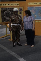 Helen Atwell and R. Ashker_Southeast Dearborn Ethnic Festival Aug 1983 (Arab American National Museum) Tags: festival access dearborn arabamerican