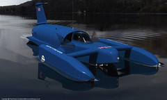 Ready-to-Go (ouroboros888) Tags: world speed 3d model render donald record bluebird campbell coniston hydroplane k7