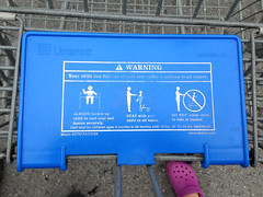 Shopping Cart Warning