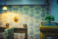 Cafe (OzGFK) Tags: flowers cafe nikon asia coffeeshop nikkor