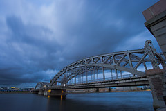 Saint-Petersburg (rdesign812) Tags: bridge saint russia petersburg saintpetersburg leningrad bolsheokhtinsky
