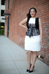 Romantic Sheath (GirlWithCurves) Tags: fashion curlyhair plussizefashion curvygirl girlwithcurves plussizeblog taneshaawasthi