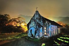 老教堂 old church (愚夫.chan) Tags: taiwan 夜景 oldchurch 臺灣 復興鄉 桃園縣 三民村 基國派老教堂