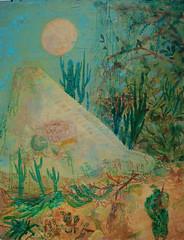 painting (Johannes Brander) Tags: ruins war surf pyramid jungle sacred