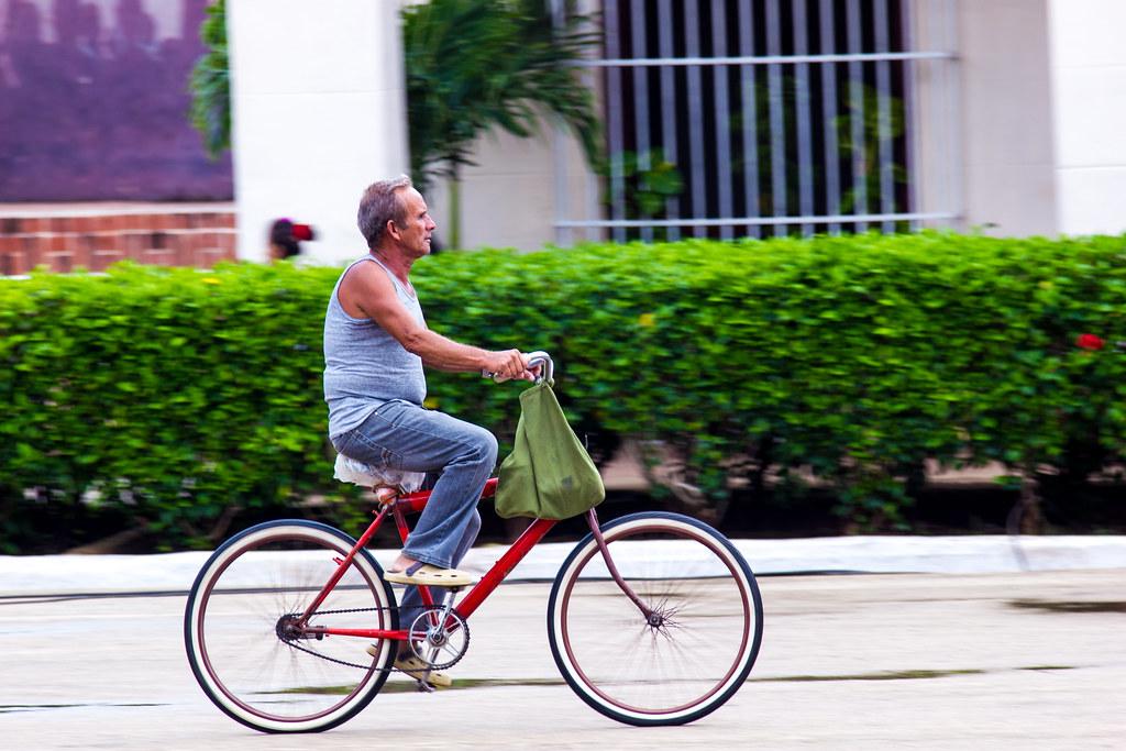 Cycliste cubain (Explored)