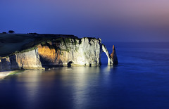 Elephant (Laurent photography) Tags: longexposure travel light sunset sea wallpaper sky seascape france colors french landscape geotagged nikon europe flickr clear hd bluehour 365 nikkor fx geographic etretat nationalgeographic awesomeshot seinemaritime anawesomeshot dailyfrenchpod d700 infinestyle flickrdiamond theartistseyes laurentphotography