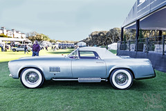 1955 Chrysler Falcon Concept at Amelia Island 2014 (gswetsky) Tags: island antique falcon amelia chrysler concept concours ghia delegance exner