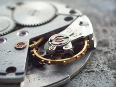 101_2165 (Marcel Oczkowski) Tags: macro clock kodak dial gear wristwatch mechanism gem helios gemstone invertedlens 44m c813
