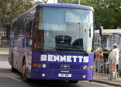 Bennetts A17BNT (M309VET) Scania K113CRB Van Hool Alizee ex Smith (chrisbell50000) Tags: bus ex station newcastle coach under smith deck single former van lyme scania decker hool alizee bennetts k113crb a17bnt m309vet chrisbellphotocom