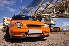 (Yesenia Lpez) Tags: auto las orange car japan canon island photography japanese muelle photographer photographie canarias toyota gran canary g6 corolla canaria palmas toyotacorolla e11 550d e111 worldcar worldcars 4afe