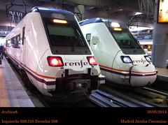 Con prisas y a lo loco (jrubios8) Tags: madrid españa tren media cercanías cáceres regional atocha distancia renfe mérida 598 expres 17018 17026 598516