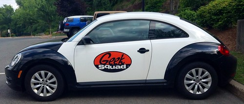 Geek Squad vehicle