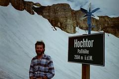 AUSTRIA-STERREICH 1997 (streamer020nl) Tags: schnee snow sign ed austria oostenrijk sterreich o w sneeuw pass n s 1997 windmolen 2504  austriche windmhlen hochtor llh pashhe louiselh