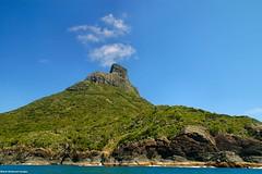 Top of Mt Lidgbird - Lord Howe Island Circumnavigation (Black Diamond Images) Tags: mountains island boat paradise australia cliffs nsw boattrip circumnavigation lordhoweisland worldheritagearea thelastparadise circleislandboattour