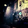 Israel 39 (SG Dorney) Tags: streetart art wall night israel alley mural jerusalem iphone appleiphone