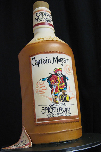 Captain Morgan Cake med