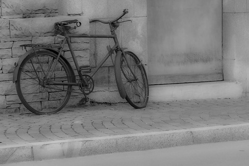 Lonely bicycle...