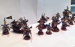 My Black Legion Warband Champions (so far) Part2 C (Godders11) Tags: chaos 40k 40000 warhammer40k gamesworkshop blacklegion
