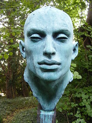 Othello (leedslily) Tags: wood sculpture art home forest woodland garden yorkshire trail stately newbyhall