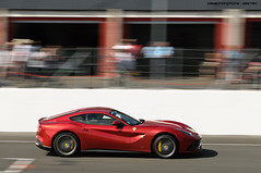 F12 (Gaetan | www.carbonphoto.fr) Tags: auto car speed nikon great fast automotive ferrari exotic le coche panning incredible rosso luxury supercar f12 berlinetta hypercar vigeant worldcars carbonphoto