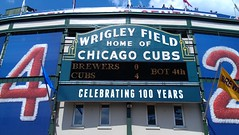 Wrigley Field marquee (Mr. Montrose) Tags: