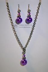 Jewelry set for SD_08 (Dark0na) Tags: set necklace doll hand handmade jewelry jewellery made sd bjd earrings darkona darkonaru