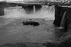 Godafoss 3 (joeng) Tags: mountain snow water river landscape waterfall iceland olympus glacier omd godafoss em1