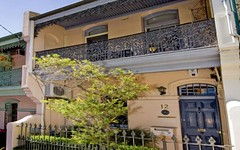 12 LESWELL STREET, Woollahra NSW
