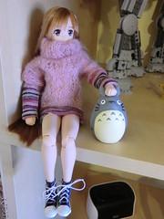 CIMG7333 (Ninotpetrificat) Tags: japan doll totoro sao mueca studioghibli azone asuna