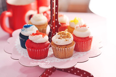 Sweet Dreams ~ (Miss.Dua'a) Tags: red food love colors photography muffins cupcakes baking yummy rainbow sweet happiness velvet sugar desserts cupcake quotes kawaii sweets                  instagram