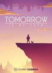 tomorrow is my turn (Sherif Nagy) Tags: sunset art illustration digital turn photoshop painting graphics waiting purple drawing manga tomorrow 2d sherif nagy sherifnagy