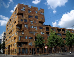 """""""Square Pey Berland"""", a stunning modern building in Bordeaux (Sokleine) Tags: france building architecture modern contemporary bordeaux cubes immeuble aquitaine gironde 33000 meriadeck squarepeyberland"""