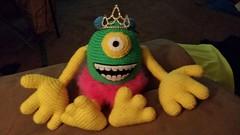 Kelly Noecker (The Crochet Crowd®) Tags: mike toy mikey cal amigurumi redheart monstersinc crochetalong crochetpattern staceytrock freecrochetpattern thecrochetcrowd michaelsellick mysterycrochetchallenge whosinyourcloset monstersinccrochetpattern monstersuniversitycrochetpattern