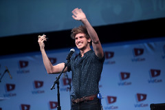Joey Graceffa (Gage Skidmore) Tags: california joey center convention anaheim 2014 youtube vidcon graceffa