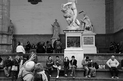 admire ~Loggia dei Lanzi @ Piazza della Signoria  @ ~ (PS~~) Tags: park old city travel vacation italy holiday str