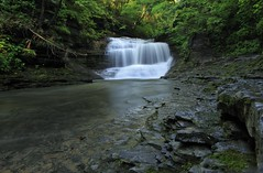 Waterfall - Buttermilk Creek, NY (no
