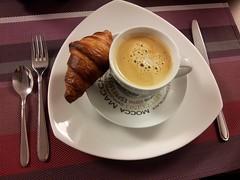 Sunday Colours - Leisurely Breakfast (Pushapoze (MASA)) Tags: breakfast belgium baguette croissant bruges espresso poffertjes jams cheeses fromages petitdejeuner confitures photobymysister