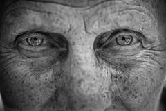 Eyes like diamonds (Giulio Magnifico) Tags: life lighting detail macro eye girl look closeup lady composition contrast diamonds hope eyes alone emotion half essence aged gaze glance genuine udine nikond800e nikkormicro105mmafsvrf28