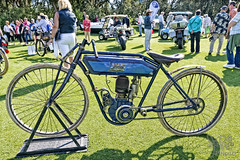 1911 Thor Board Track Racer at Amelia Island 2014 (gswetsky) Tags: vintage island track antique board motorcycle amelia thor concours racer delegance